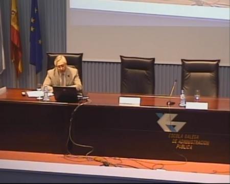 Luis M. Jiménez Herrero. Director Executivo do Observatorio da Sostenibilidade en España (OSE) - Encontro: A xestión dos recursos ambientais en Galicia: experiencias, retos e perspectivas